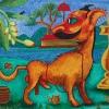 """Dogmatic""  Acrylic on Canvas"