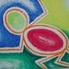 """""""The Ape""""  Acrylic on Canvas"""