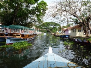 Entering the Venice of the east: To Alapuzha Jetty