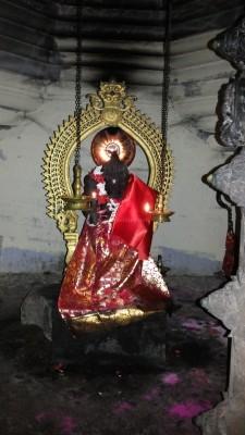 Mahamaya the mother of Buddha, now moved to a subshrine and called Madhatil Bhagavati. Madham in Kerala was originally a Buddhist monastery or nunnery as in Kanya Madham or Kanyakavu.