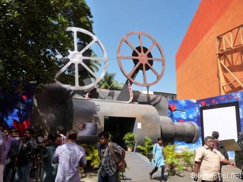IFFK 2012 Office at Kairali complex Thampanur, Tvm, Kerala