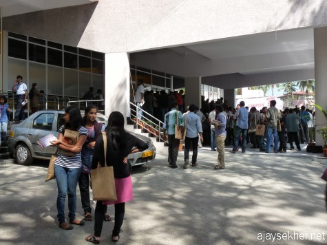young delegates and students at Kairali