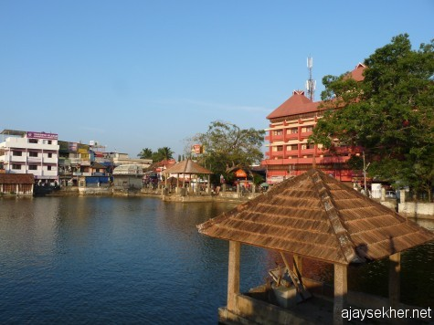 Padmateertha Kulam, an ancient pond in Tvm inside the Fort before the temple.  It could be a silent witness to the conversion of Padmapani boddhistva to Padmanabha Vishnu in 8th century.  Anyway the affix Padma still stays...