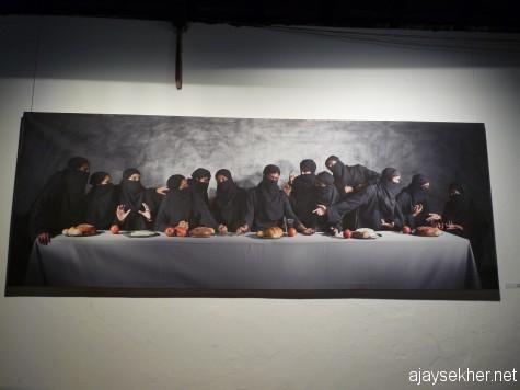 """""""Last Supper"""" by Sumedh Rajendran at Aspinwall."""