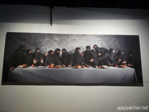 """Last Supper"" by Sumedh Rajendran at Aspinwall."