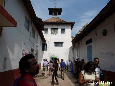 The Jewish Synagogue, Jew Town, Mattanchery south of Fort Cochin.