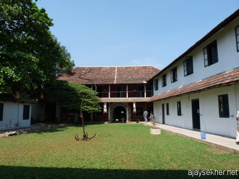 Pepper House in Calvathy Road, another main venue of Kochi Biennale