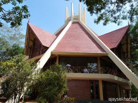 An archetectural confluence of religious and philosophic polyphony: Narayana Gurukulam convention centre, Varkala.