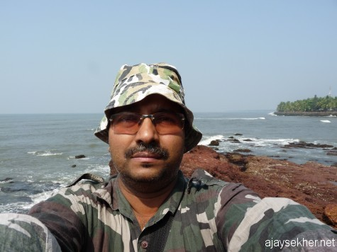 At the river mouth of Kadalundy, 6 Jan 2013.