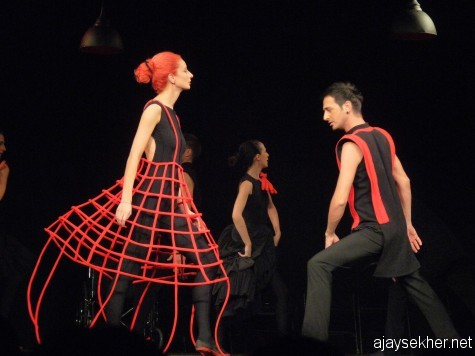 Carmen Choreo-drama, Tbilisi Theatre, Georgia.