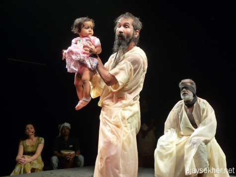 King Lear a co-drama from Uzbekistan, participatory and inclusive
