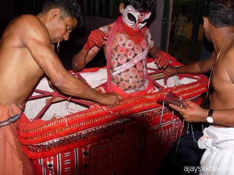 Green Room of Theyyam