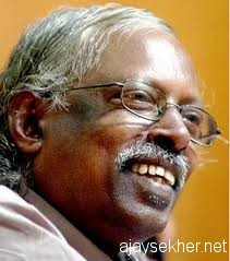 The Smile of the Tathagatha:  D Vinayachandran in his 60s.