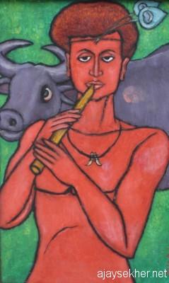 Vernacularising the Viratpurusha: Krishna by Chitrakaran T Murali