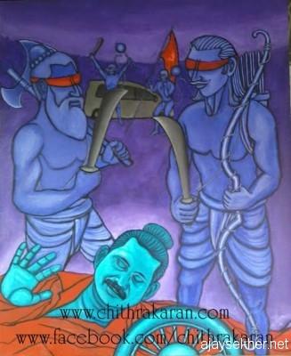 The legacy of Ram Rajya:  The Murder of Sambuka by Chitrakaran