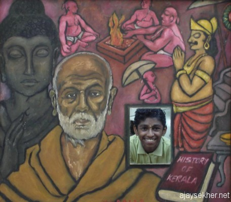 Old and neo buddhas of Kerala; Yaga Vedic culture of Vamana ideology or Brahmanism taking over by cheating Maha Bali in the background:  History of Kerala by Chitrakaran