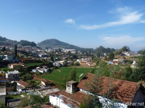 Otakalmand or Ooty in glorious summer morning light, early March 2013.