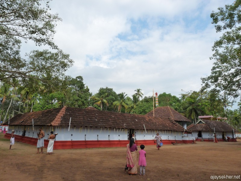 Perinjanam Pallyil Bhagavati temple north of Kodungallur and Mathilakam.  The first installation by Pallybanar in early 16th century.