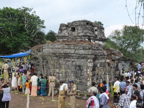 Mangaladevi Kottam in Kumaly on Chitra Paurnami day, 25 apl 2013