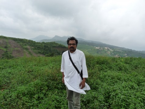 Anirudh Raman at Pallykanam in Vagaman, early May 2013.