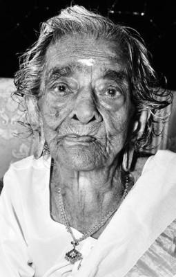 Velathu Lakshmikutty (1911-2013) at 103.  Photo: The Hindu
