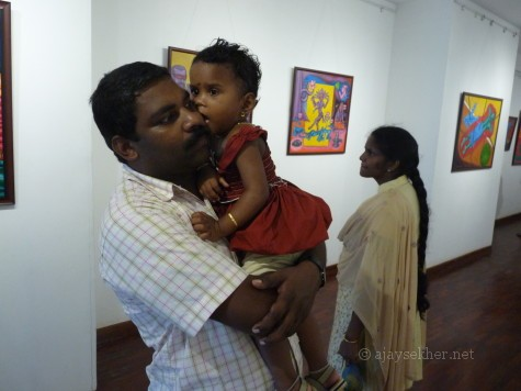 Dr M B Manoj and family in image/carnage 2 @ Calicut.