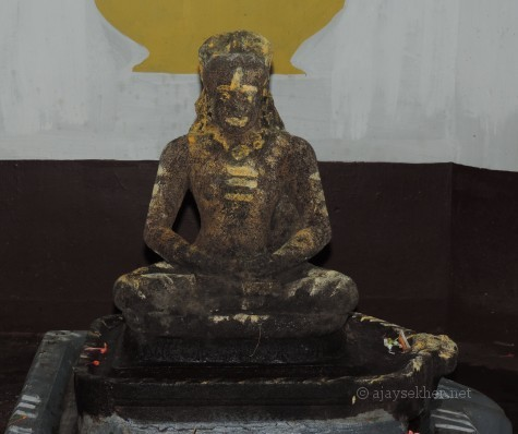 Buddha idol at Topil House in Onampally near Kalady, Ernakulam district of Kerala. Photo by Ajay Sekher 16. 8. 2014