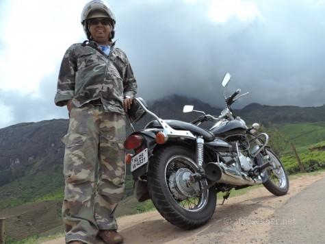 Before the mist-caped Chokramudi or Chakra Mudi near Lockheart Gap on Munnar - Bodhi Nayakanur highway