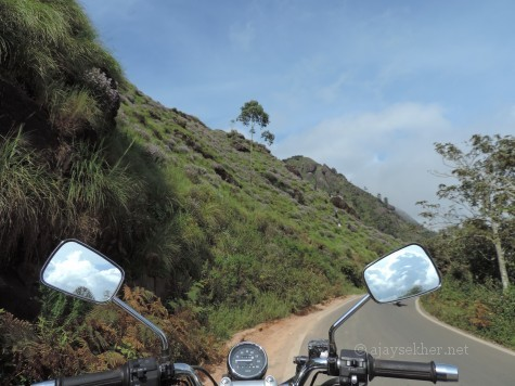 Riding to the Anamalais to see the Kurinji bloom by the Gap road on Munnar - Bodhi Medu road.