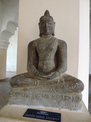 Seated Buddha 3 at Tanjavur Palace Museum