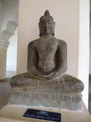 Seated Buddha 3 at Tanjavur Palace Museum