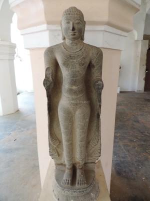 A standing Buddha at Tanjavur Palace Museum