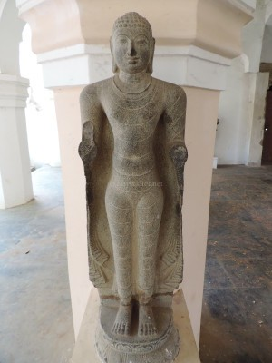 A standing Buddha at Tanjavur Palace Museum