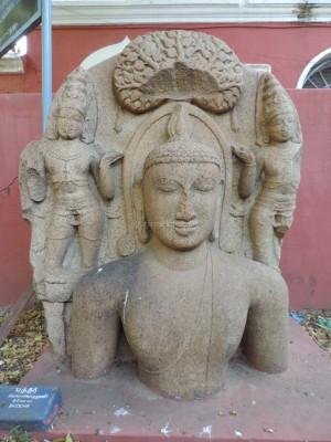 Buddha at Tiruchirapally Govt Museum, marked 11th century AD