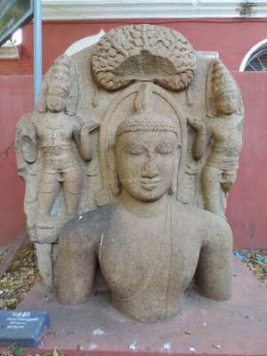 Buddha at Tiruchirapally Govt Museum, marked 11th century AD