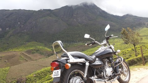 Chakra Mudi (now Chokra Mudi) the third highest peak in Anamalais that was a landmark on which the Dhamma Chakra was enshrined between Pallyvasal and Bodhi Medu on way to Bodhinayakanur in the Tamil country