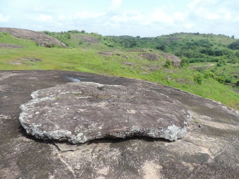 Tolanur megalithic site in Palakad district of Kerala